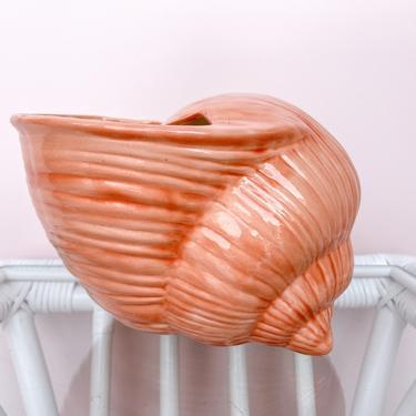 Pink Shell Cachepot