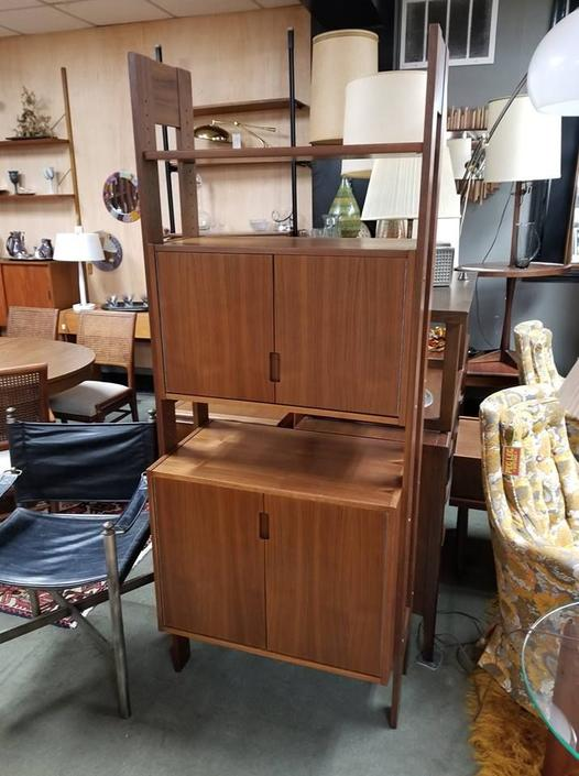 Danish Modern free standing wall unit