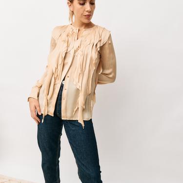 Fendi Silk Blouse, Size 38