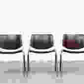 Castelli Wenge DSC Stacking Chairs