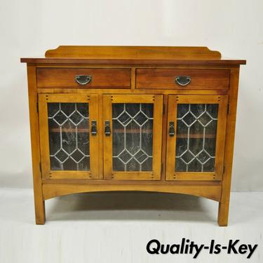Drexel Heritage American Review Arts & Crafts Mission Cherry Buffet Sideboard