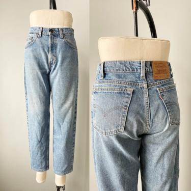 "1990s Levi's 550 Jeans Denim Relaxed Fit 31"" x 28"" by dejavintageboutique"