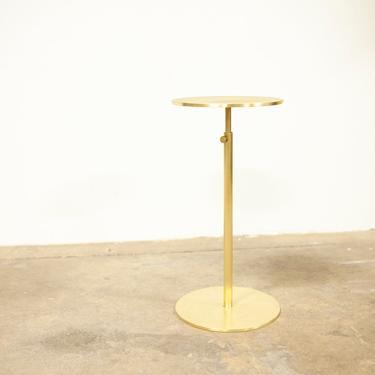 DV Drink Table - Solid Brass Side Table by OlivrStudio