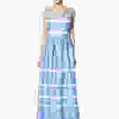Roman Blue Gown