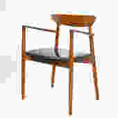 Harry Ostergaard for Randers teak side chair