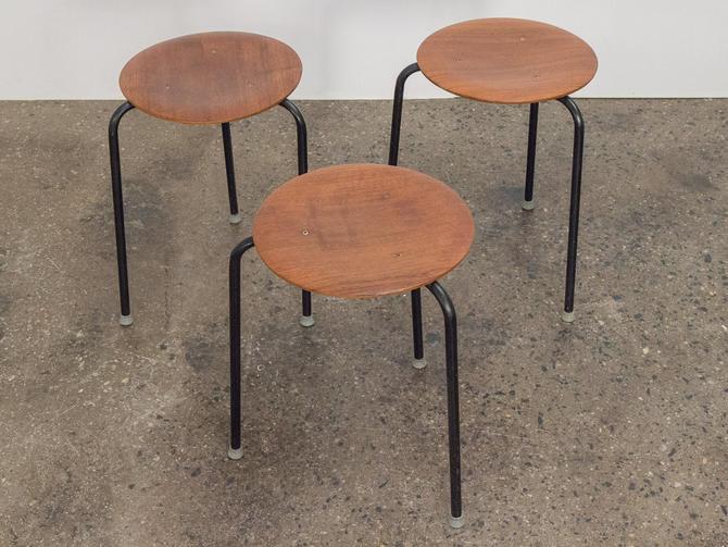 Arne Jacobsen Stacking Dot Stools by openairmodern