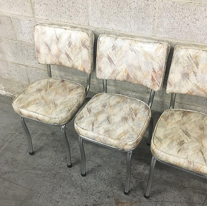 LOCAL PICKUP ONLY ----------------- Vintage Set of 4 Dining Chairs by RetrospectVintage215