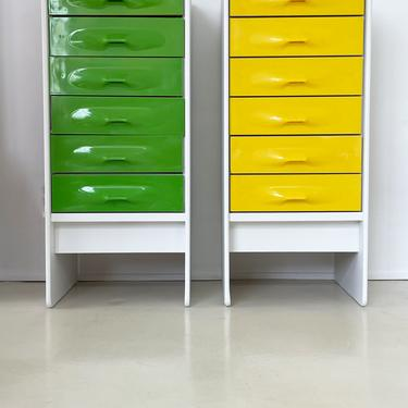 1970s Giovanni Maurer for Treco Tall Chest of Drawers