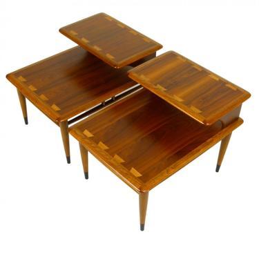 Pair of Lane Acclaim Step Tables