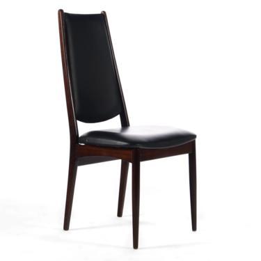 Rosewood Highback Danish Mid Century Modern Desk Chair / Side Chair by ABTModern