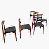 Set of 6 Randers Teak Dining Chairs