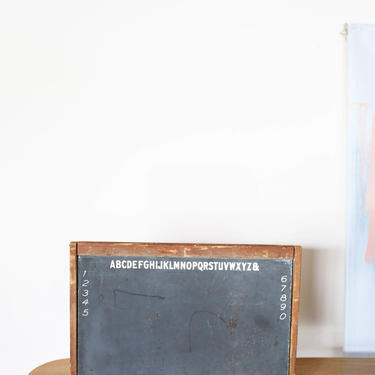 Vintage Kids Chalkboard Table Top by GoldmineUnlimited
