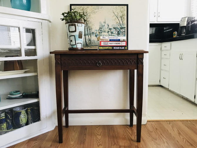 ECLECTIC Side Table/Nightstand with Drawer (Los Angeles) by HouseCandyLA