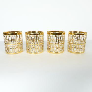 Shoji Trellis Rocks Glasses