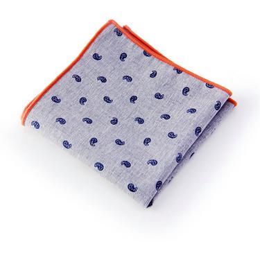 Floral Pocket SquareWedding Handkerchief, Groomsmen ,Father Gift, Boyfriend,Gift,Party,Vintage,White,Wedding Accesories,Graduation,Prom by LookGreatWL