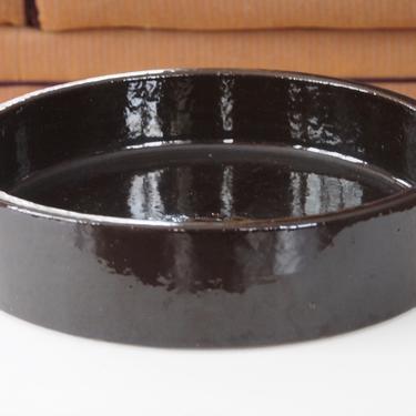 MCM Hasle Black Danish Pottery Bowl by Walkingtan
