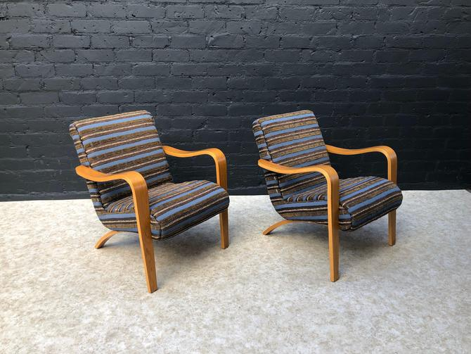 Vintage Lounge Chairs by Thonet by VintageSupplyLA