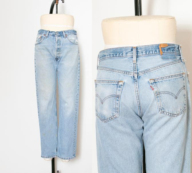 """1990s Levi's 501 JEANS Denim Cotton 32"""" x 29"""" by dejavintageboutique"""