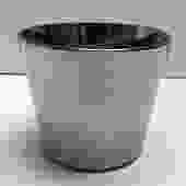 Mirrored Silver mid-Century Ice Bucket