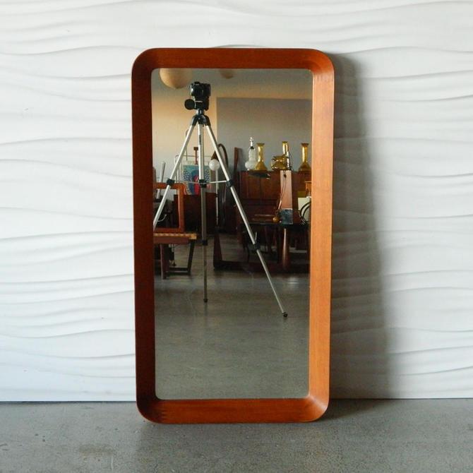 HA-C8104 Pedersen & Hansen Teak Wall Mirror