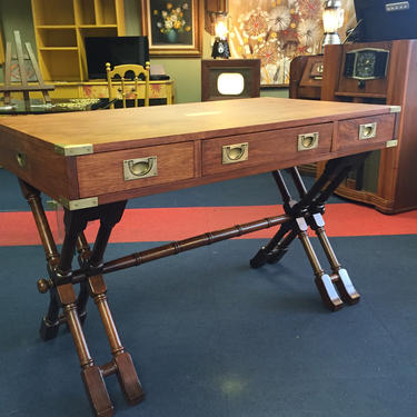 Restored Campaign Desk by AgentUpcycle