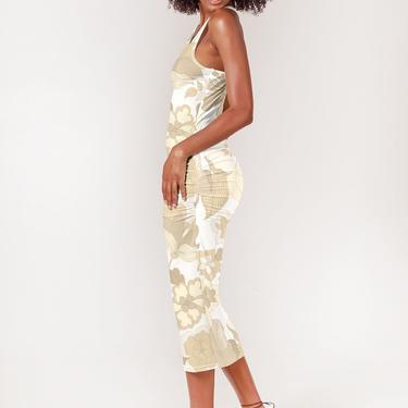 Talia Tank Dress | Ecru Retro Floral