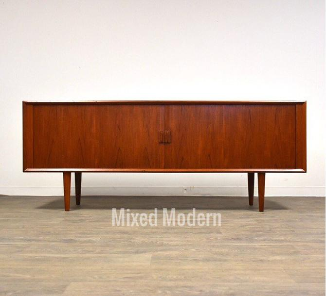 Danish Modern Teak Credenza by mixedmodern1