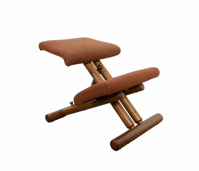Ergonomic Kneeling Chair Balans designed by Peter Opsvik Mid Century Danish Modern by HearthsideHome