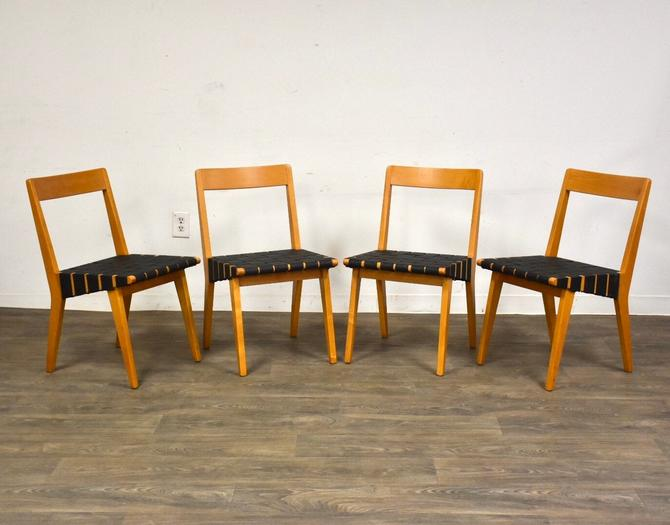 Early Jens Risom for Knoll Dining Chairs - Set of 4 by mixedmodern1