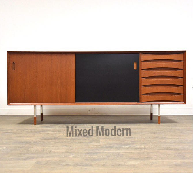 Arne Vodder for Sibast Teak Credenza Model 29 by mixedmodern1