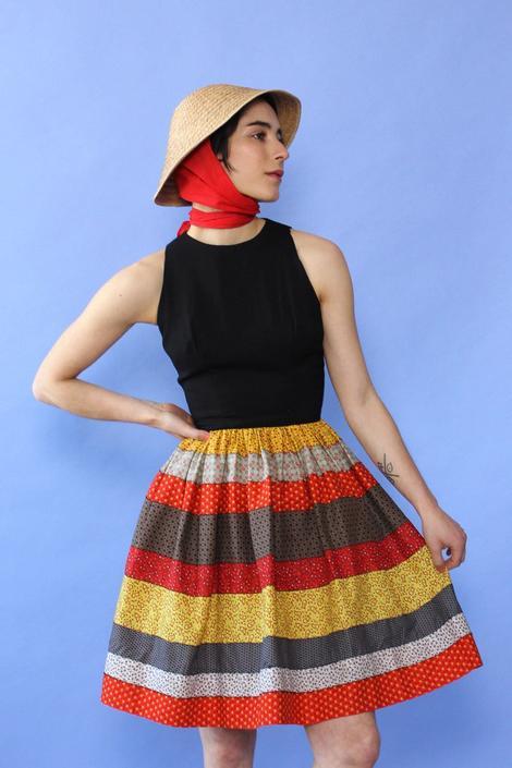 Maggi Calico Dress XS