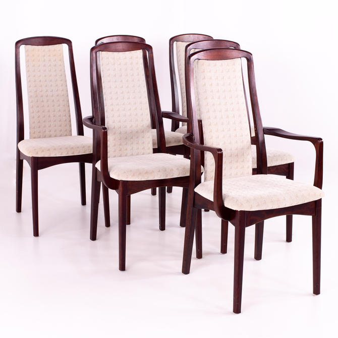 Breox Mobler Snickerinytt Rosewood Mid Century Dining Chairs - Set of 6 - mcm by ModernHill