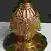 Maurice Dufrene small gilt bronze lamp (#1583)