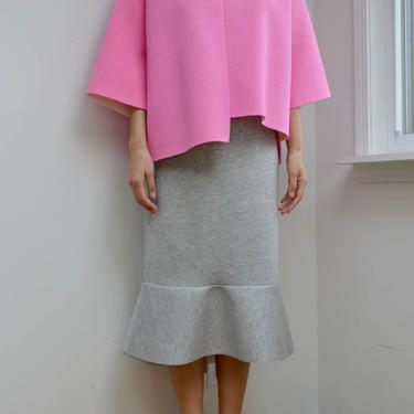 Grey Frilled Skirt by shopjoolee
