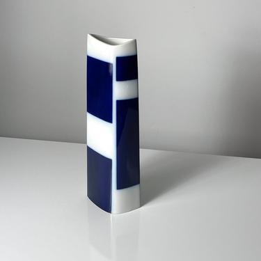 Vintage Trude Petri KPM Cobalt Modernist Vase 1950s by 20cModern