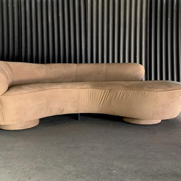 Flawless Vladimir Kagan for Directional Serpentine Sofa by HermansSteelGarage