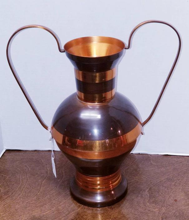 Copper Vase made in Africa by MOBvintage