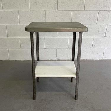 Antique Industrial Apothecary Prep Table