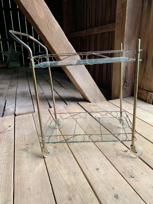 Midcentury Modern Bar Cart