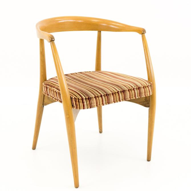 Lawrence Peabody for Nemschoff Mid Century Barrel Dining Chair by ModernHill