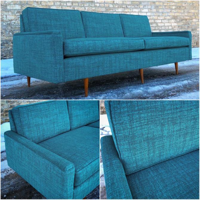 Revitalized Mid-century Modern Sofa