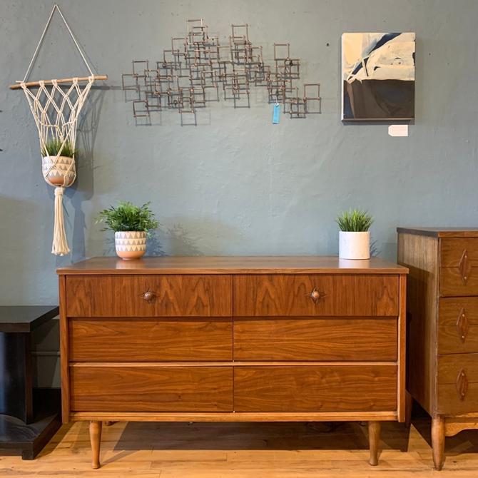 Refinished Mid-Century Lowboy Dresser