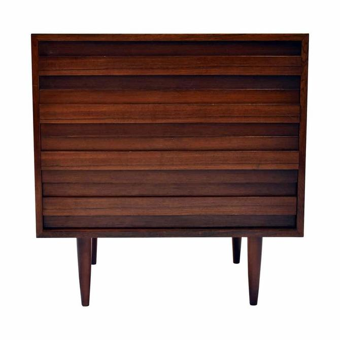 Danish Rosewood Small Chest in the manner of Arne Vodder