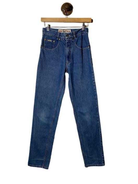 "(26"") Whoopi Blue Denim Pants 022221"