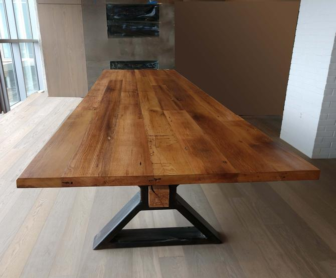 The Executive Conference Table From Reclaimed Oak And
