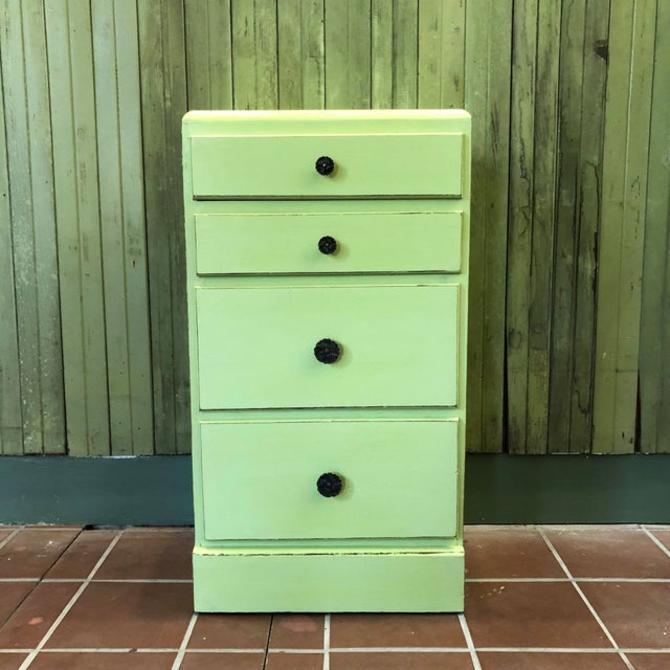 Green Painted Side Dresser