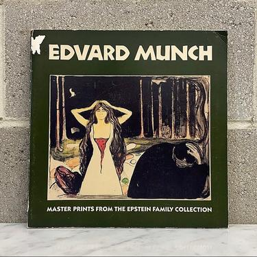 Vintage Edvard Munch Book Retro 1990s National Gallery of Art + Master Prints From the Epstein Family Collection + Softback + The Scream + by RetrospectVintage215