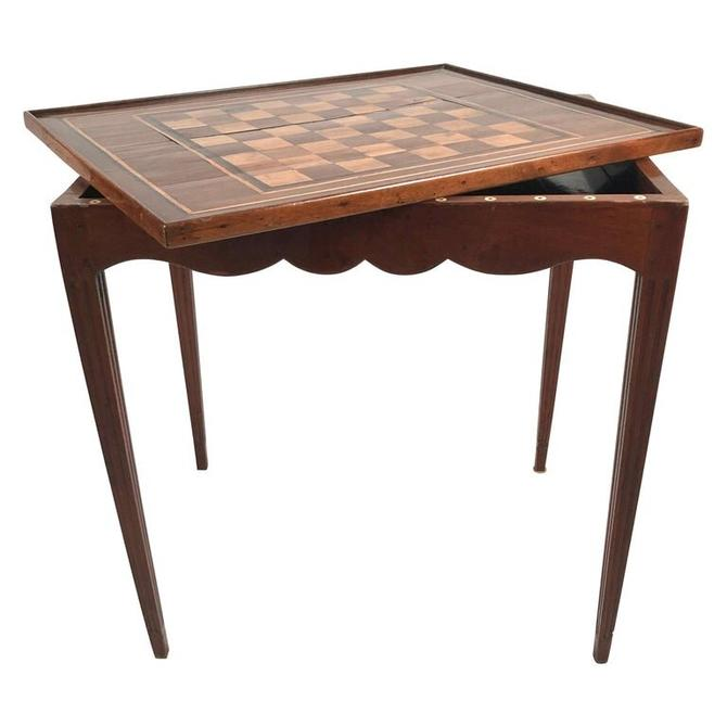 French Louis XVI Tric Trac Games Table