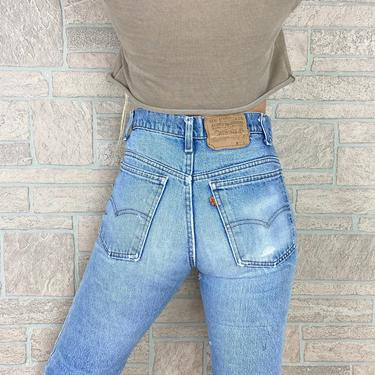 Levi's 517 Orange Tab Distressed Jeans / Size 26 27 by NoteworthyGarments