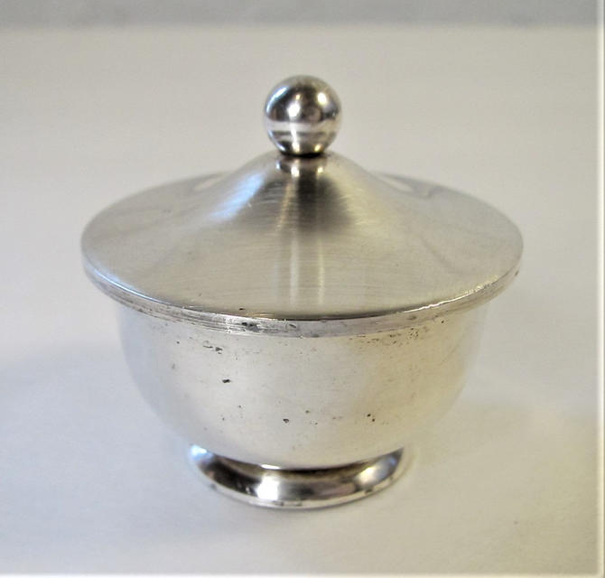Sterling Miniature Covered Bowl Compote Lidded Box by ArtloversFinds